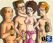 ADULT COMICS - KING OF THE HILL