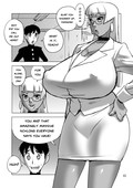 [Penguindou (Penguindou)] The Big Titted Brown Teacher and the Super Hung Student [English]