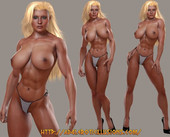 Body builder domination female life