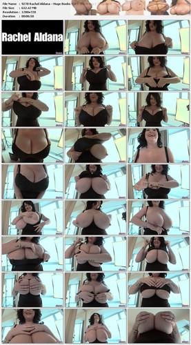 Rachel Aldana – Huge Boobs Black Stitch Bra 2 720p