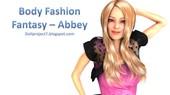 Doll Project - Body Fashion Fantasy - Abbey 2016