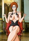 Ran Mouri - Detective Conan - bdsm comic